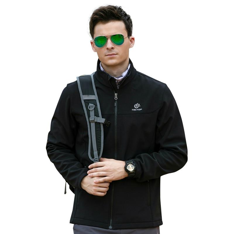 Tectop costume militaire imperméable Trekking chasse randonnée Camping doux Shell Sport vêtements Softshell veste hommes vêtements de plein air