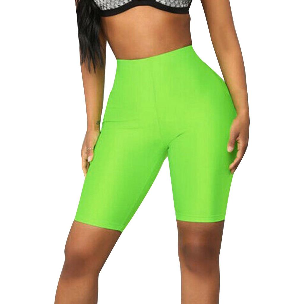 Legging Court Femme Knee-length Leggings Sport Leggings Fitness Gym High Waist  Casual Legging Womens Clothing #YL5