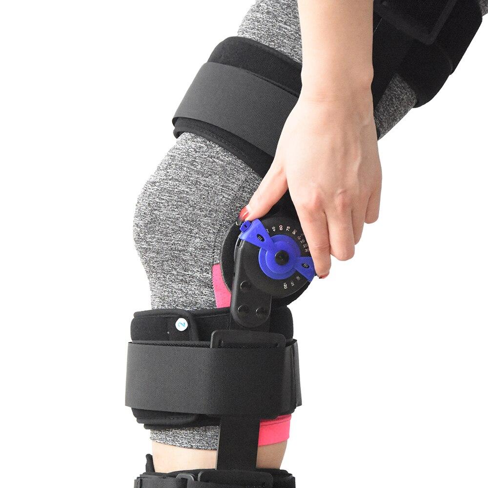 Медицинские Встроенная память навесных колено Поддержка ортез, послеоперационной иммобилизации для ACL + PCL, MCL, LCL износ и спорта