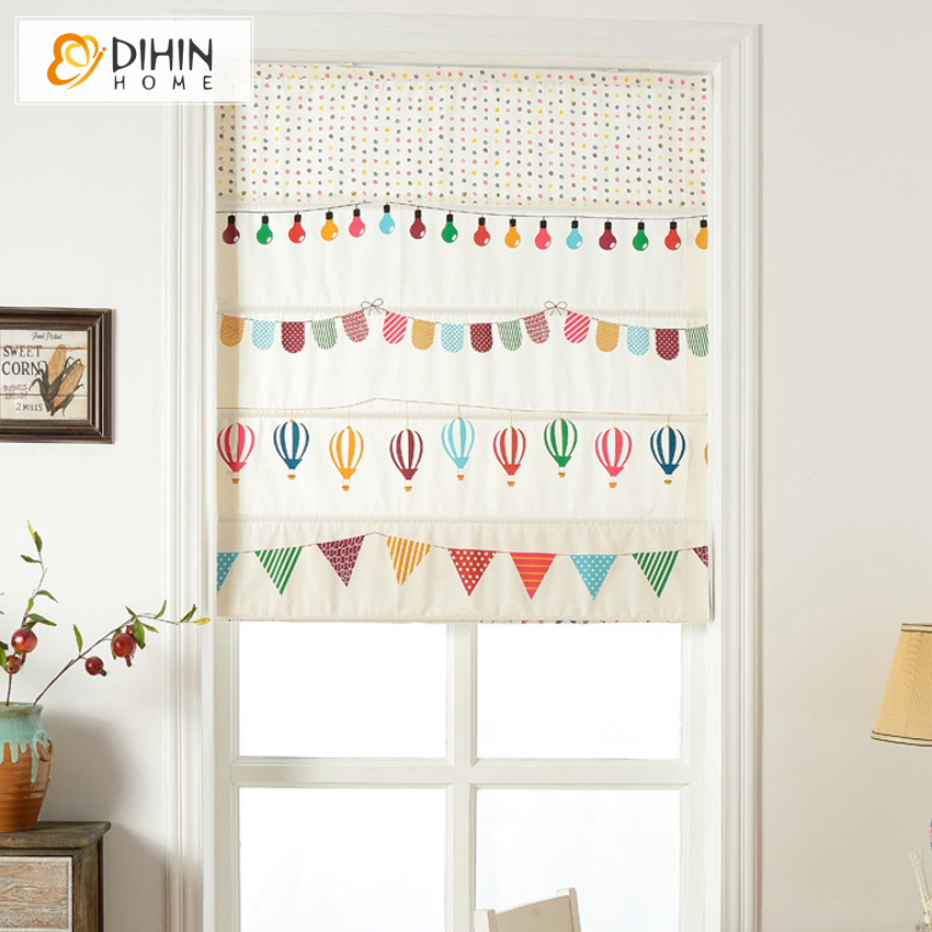 Included Curtains Cartoon Children Blackout Curtain
