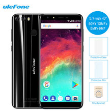 Ulefone Mix 2 5.7 Inch Smartphone Android 7.0 MTK6737 2GB RAM+16GB 13MP+8.0MP Dual Cameras Quad Core Fingerprint 4G Cell Phones