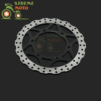 Motorcycle Front Brake Disc Rotor For KAWASAKI Ninja 250 2008 2012 08 09 10 11 12