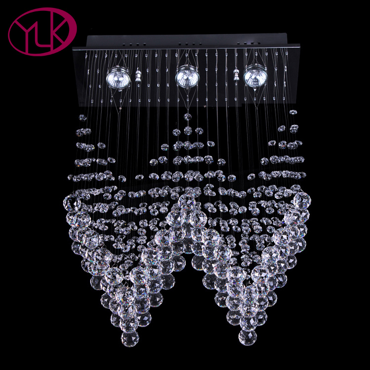 Youlaike Modern Crystal Chandelier For Dining Room Wedding Decoration Hanging Lighting Fixture Luxury LED Lustres De Cristal led chandeliers for dining room bedroom kitchen white color k9 crystal chandelier light for home decoration lustres para quarto