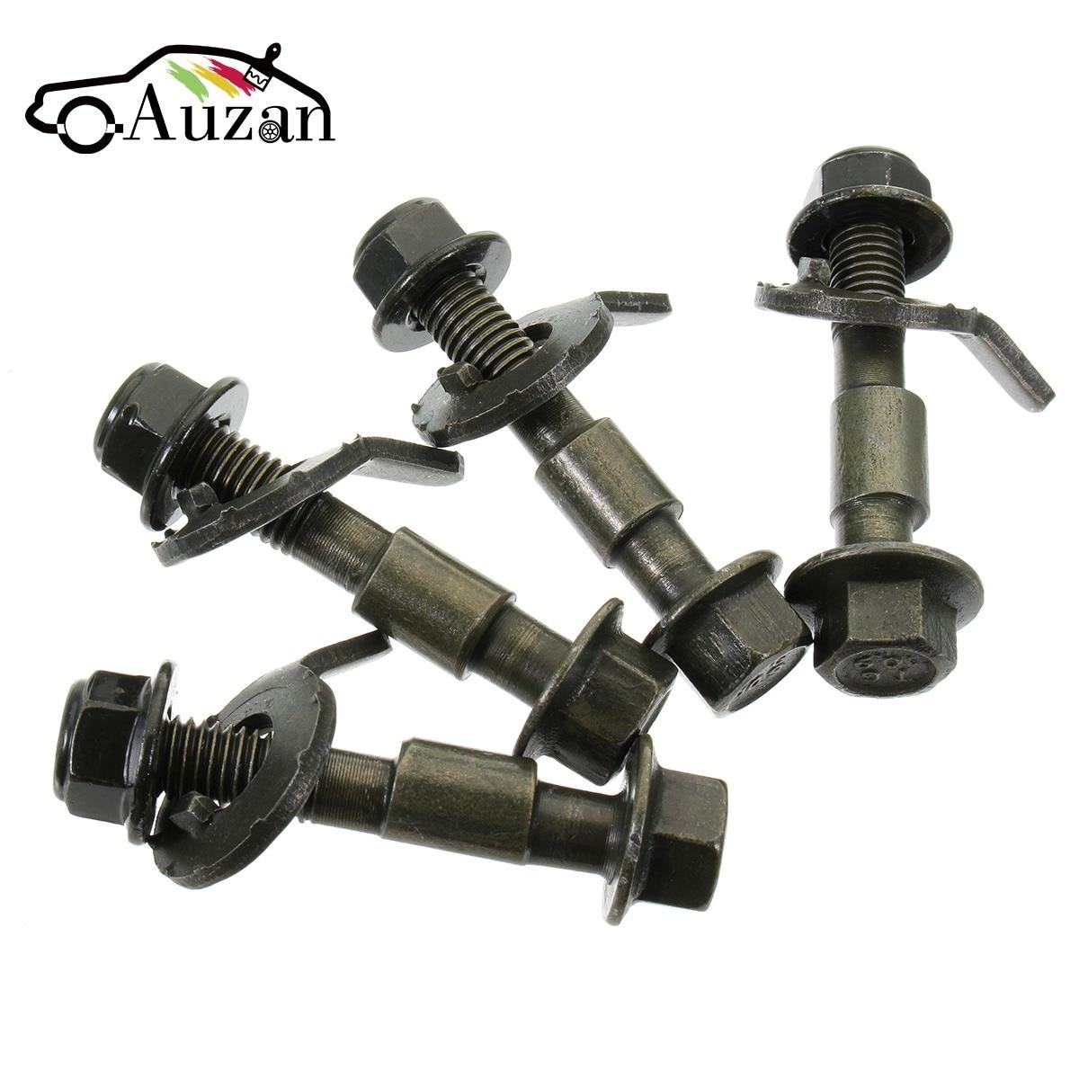 4PCS 12mm 10.9 Wheel Alignment Camber Bolt Eccentric Screw Car Adjustment Repair Tools