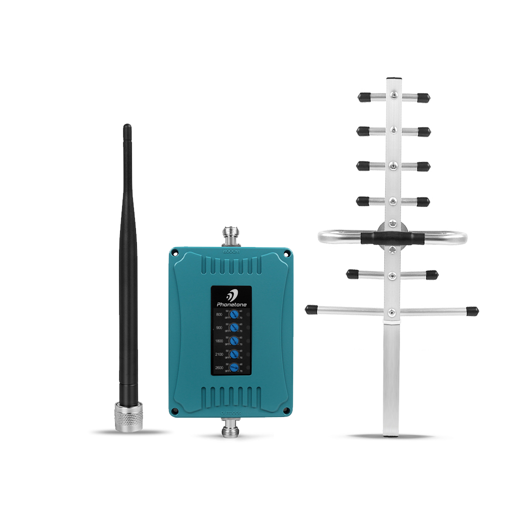 GSM Repeater Cellular 4G Signal Booster 800/900/1800/2100/2600Mhz Gsm Signal Repeater Gsm Booster Amplifier 2/3G 4G Lte Repeater