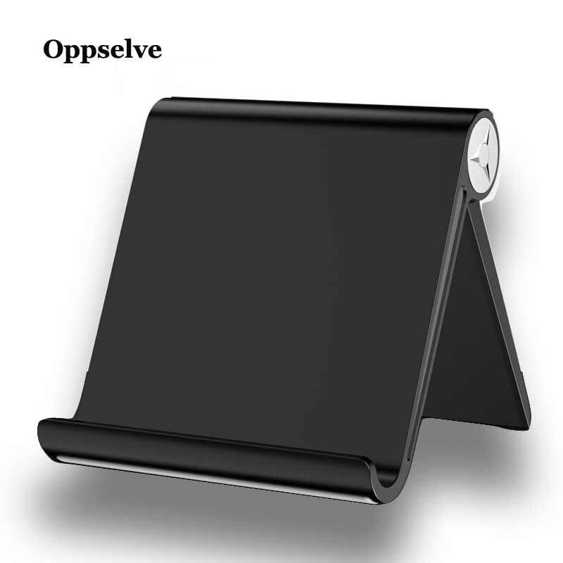 Oppselve مكتب حامل هاتف آيفون XS ماكس XR X باد سامسونج اللوحي قابل للتعديل حامل ل هاتف محمول حامل هاتف المحمول حامل