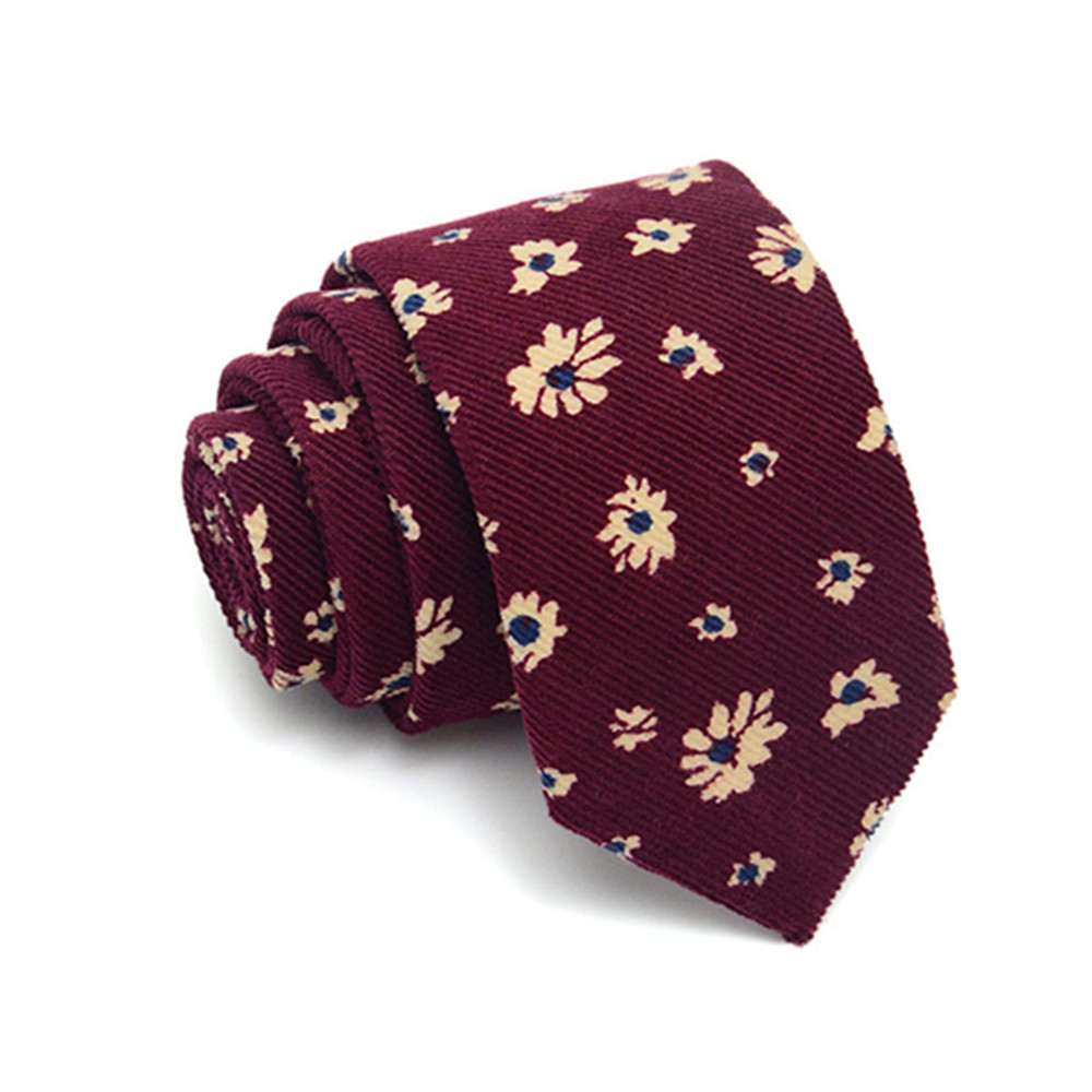 High Quality Fashion 145*8cm Mens Neck Tie Floral Wedding Business Ties Male Costume Accessories Skinny Tie FR18681