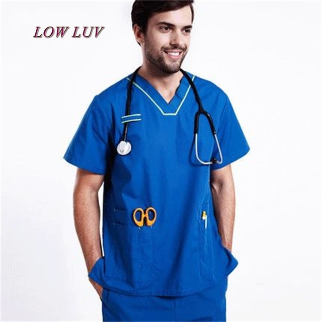 f1a1e2dd24 Al por mayor uniformes Hospital mujeres ropa médica de enfermería ropa  clínica dental salón de belleza