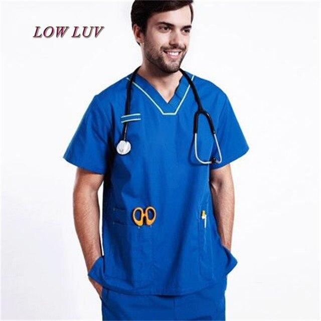 9a04972cfb6 Wholesale uniformes hospital women medical clothing nursing scrubs clothes  set dental clinic beauty salon nurse surgical suit TB