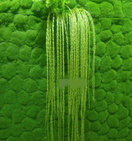 10pcs Artificial Green Turf Stone Shape Printing One Centare Soft Sward for Wall Background Decorative Grass