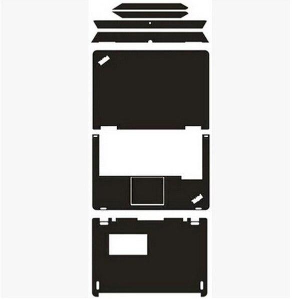 <+>  Специальные кожаные наклейки из углеродного волокна виниловой кожи Накрыть крышку Lenovo Thinkpad S1 ✔