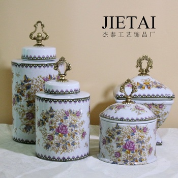 European ceramic ceramic pot creative home furnishing craft ornaments restaurant office hotel wedding