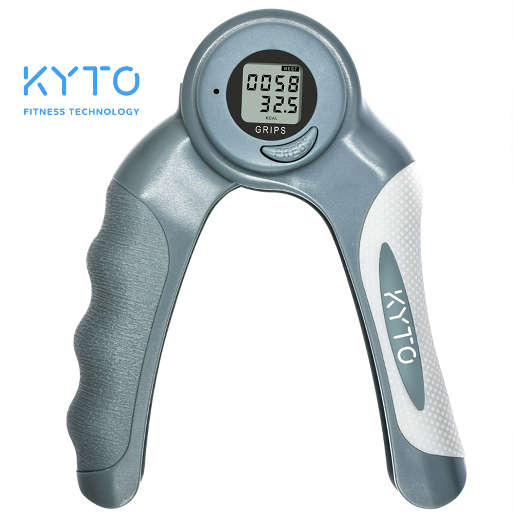 KYTO Adjustable Hand Grip Increase Strength Spring Finger Pitch Digital Arm Exercise Dynamometer Fitness Exercise Wrist Forearm adjustable fitness equipment grip hands strength exercise power exercise 5 20kg forearm hands for wholesale and free shipping