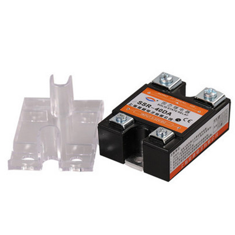 все цены на  New Accessories 24V-380V 40A SSR-40 DA Solid State Relay Module for PID Temperature Controller 3-32V DC To AC Relays  онлайн