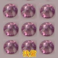 Diamante austriaco vestiti FAI DA TE decorazioni di diamante accessori da sposa abito performance di danza Luce purpl cristallo di diamante 2mm-6mm