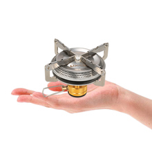 Ultra-Light Mini Gas Stove for Backpackers