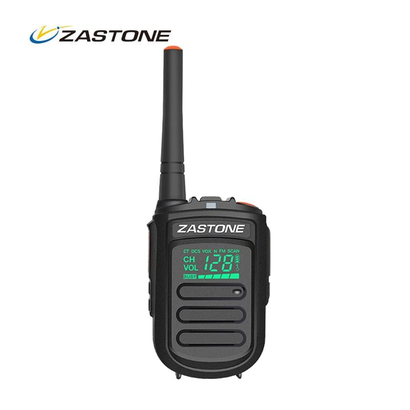 Zastone ZT-MINI9 Mini Walkie Talkie UHF 400-470MHz 128CH Two Way Radio Portable Handheld Transceiver CB Ham Radio Communicator