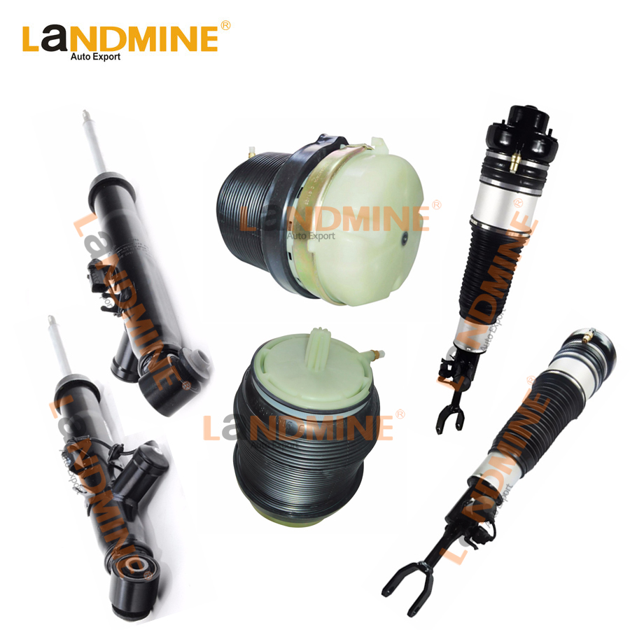 Free Shipping 6PCS Rear Air Ride Front Air Spring Air Bag Fit Audi A6 C6 4F0513032H 4F0505312L 4F0616040AA(39AA)