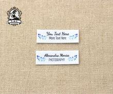 128 logo personalizzato etichette/etichette di marca, personalizzato nome di tag per i bambini, ferro sopra, etichette di Abbigliamento personalizzati, Etichette Nome