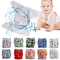 Reusable Waterproof Cloth Nappy Washable Rope Storage Bag Wet Baby Diaper New