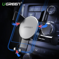 Ugreen Gravidade Slot de CD Carro Titular Do Telefone para o iphone 7 Monte Estande titular GPS Phone Holder para Samsung S8 S9 Telefone Móvel titular