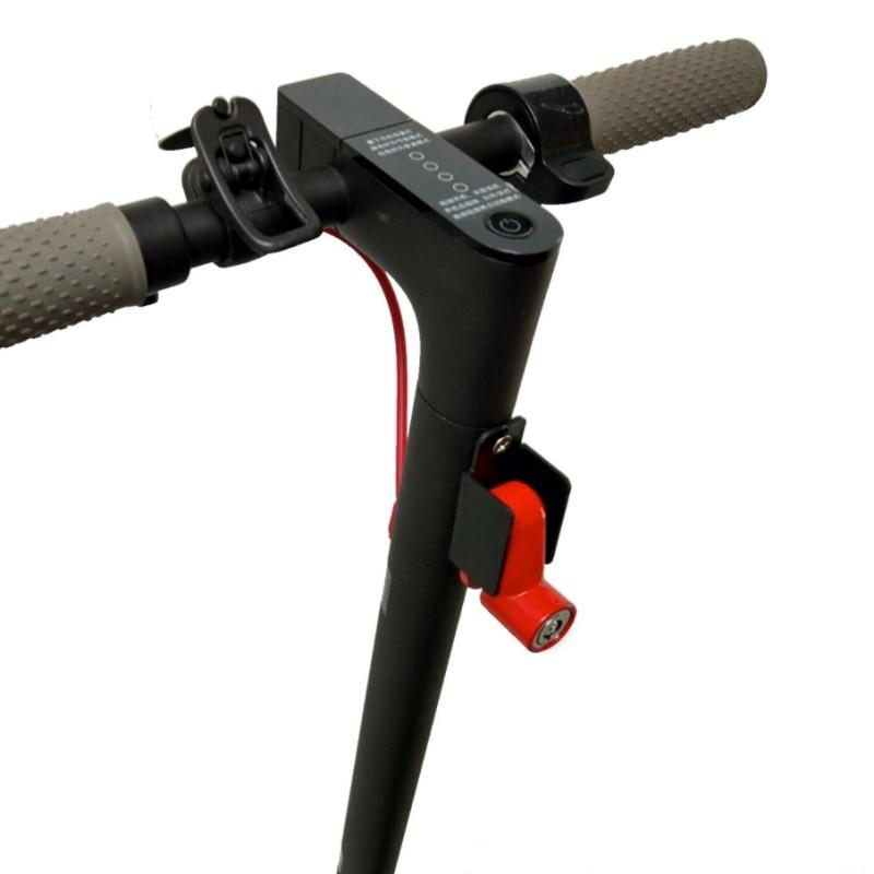Anti-Theft дисковые тормоза замок с Стальная проволока для мини Xiaomi Mijia M365 Электрический Smart скутер скейтборд колеса замок кражи -доказательство