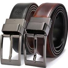 Men's Belts fashion Leather Reversible Belt