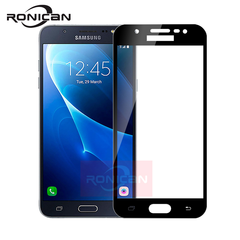<font><b>9H</b></font> 3D Full Cover Tempered <font><b>Glass</b></font> For <font><b>Samsung</b></font> <font><b>Galaxy</b></font> <font><b>A3</b></font> A5 A7 J3 J5 J7 <font><b>2016</b></font> 2017 J330 J530 J730 Screen Protector Film Protective image
