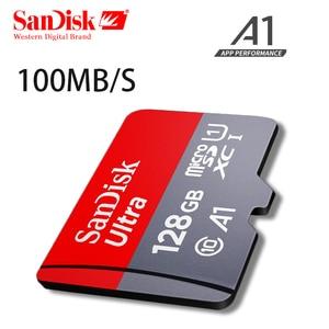 Image 4 - サンディスクマイクロsdカードClass10 16ギガバイト32ギガバイト64ギガバイト128ギガバイト90メガバイト/秒オリジナルtfカードメモリカード200ギガバイト256ギガバイトのフラッシュメモリスティック