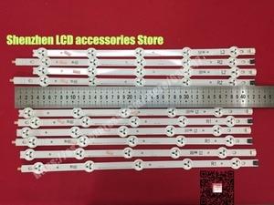 """Image 3 - 10 pièces/lot, original 42 """"LED bande Pour Vizio E420 A0 LG 42LN5300 LG 42LN5400 LC420DUE (SF) (R7) R1 + L1 = 6 pièces R2 + L2 = 4 pièces"""
