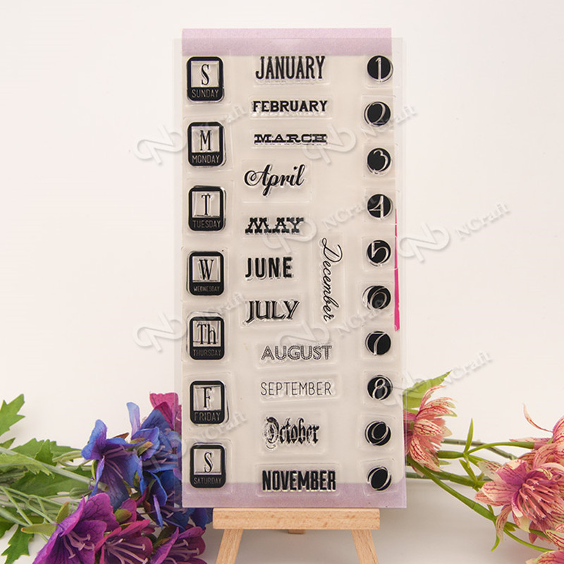 DIY date Transparent Clear Rubber Stamp Seal For Scrapbooking/Photo Album Decorative Silicone Stamp T-0134 bigbang seungri 2nd mini album let s talk about love random cover booklet release date 2013 08 21 kpop