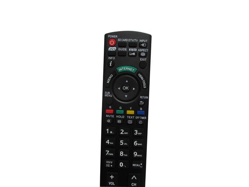 10 шт. пульт дистанционного управления для Panasonic TH P58VT20A TH P65VT20A N2QAYB000604 TH L32C30A TH L32E3A TH L32U30A HDTV TV