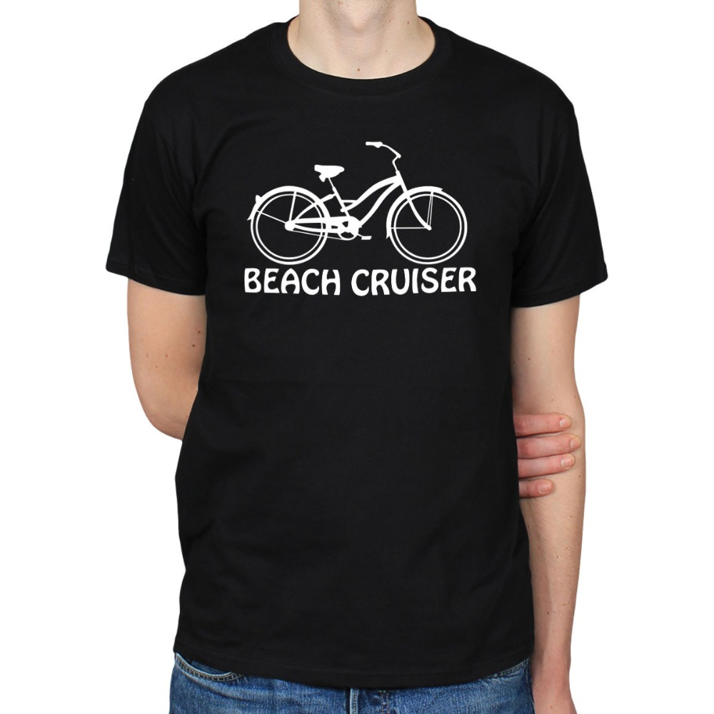 2019 Hot Sale 100% cotton BEACH CRUISER BICYCLE BIKES CYCLINGS LOWRIDER HIPSTER SCENE T-SHIRT TEE Tee shirt