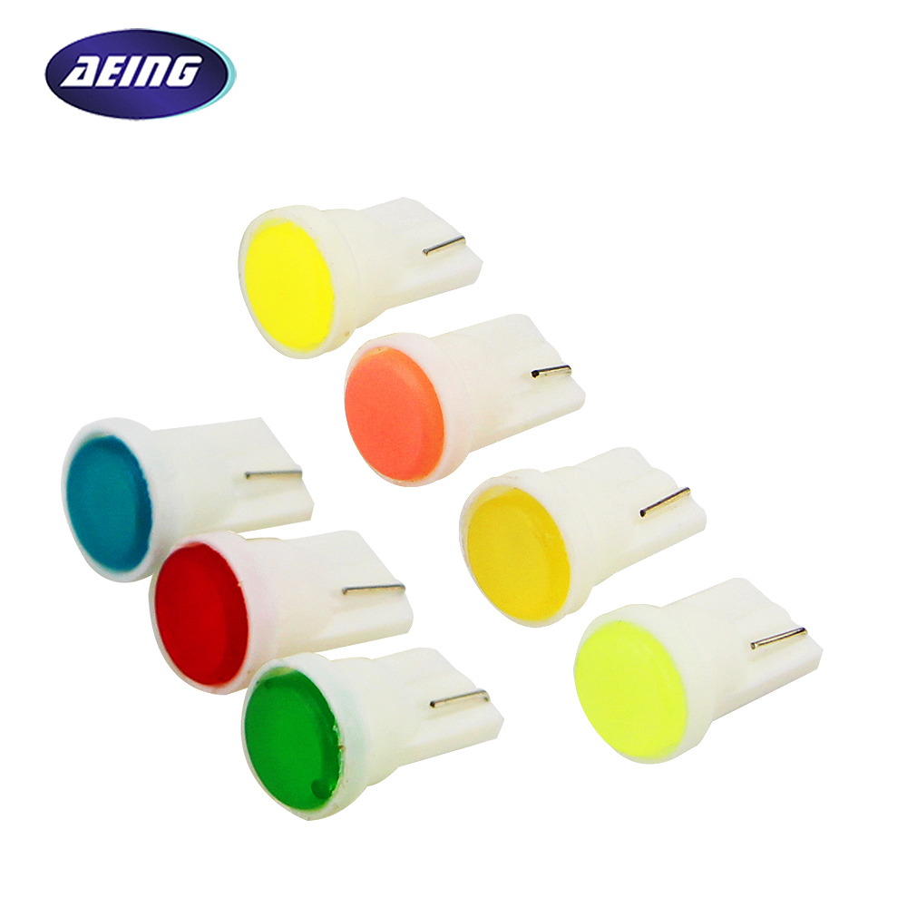 AEING 1 piece T10 W5W LED SMD COB 194 168 LED Car Dashboard Interior Side Wedge/Instrument Dash Light Bulbs Car Styling urbanroad 10pcs lot t10 w5w led bulbs 194 168 cob xenon white parking interior side dashboard license light lamp car styling