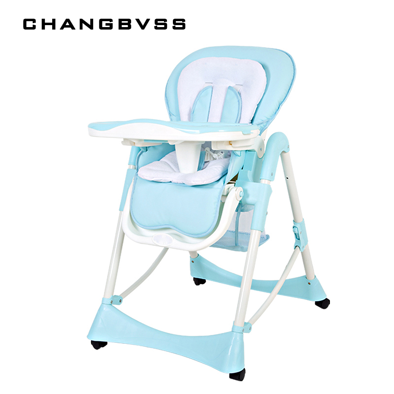 Baby HighChair Feeding Children Eat Dinner Chair High Quality Feeding Chair Baby Dining Chair Comfortable Safety Adjustable Seat cnim hot 3 2w blue stainless steel ip68 waterproof led marine underwater light boat yacht light