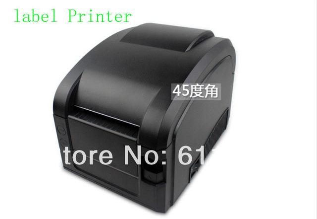 1 UNIDS Línea Directa Térmica 3 ~ 5 Pulgadas/Sec puerto USB Barcode Label Printer, impresora de código de barras térmica