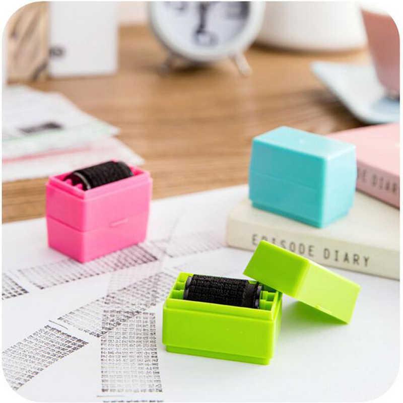 Creative Rolling Stamp Seal นักเรียนเครื่องเขียนของเล่นเก็บ Secret กระดาษรหัสความเป็นส่วนตัวป้องกันเครื่องมือ Office Supply