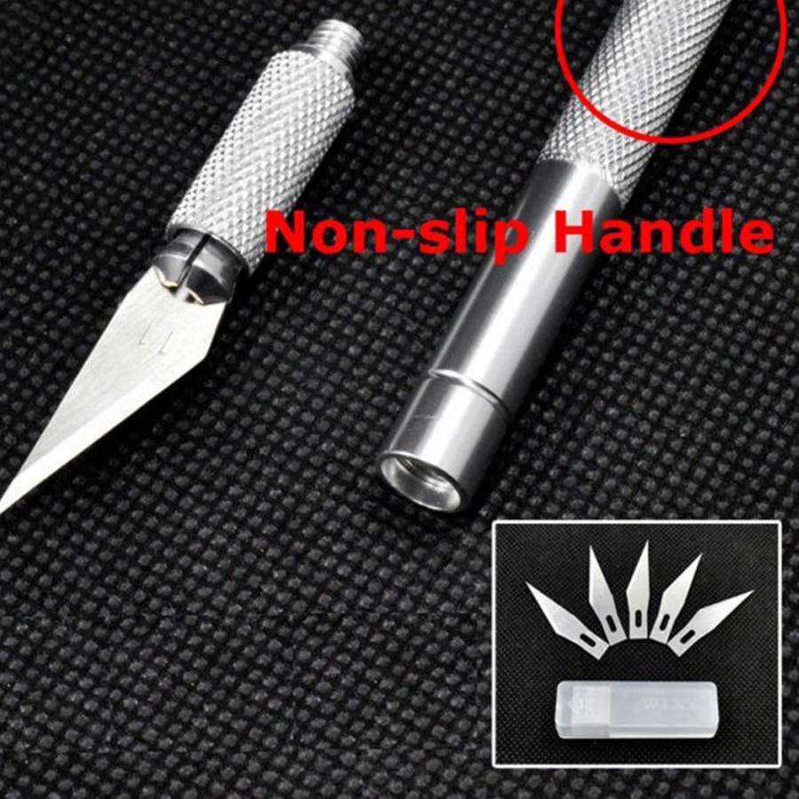 Libisemiskindla metalli skalpellnoa tööriistakomplekt - Käsitööriistad - Foto 4