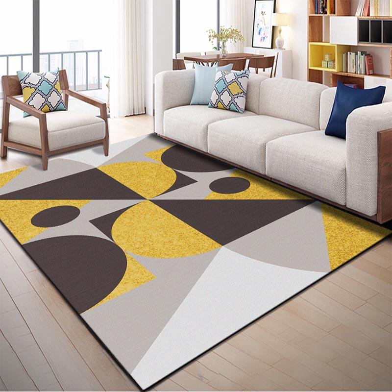 Us 5 4 40 Off Rectangle Decorative Floor Mats For Living Room Kids Bedroom Entrance Doormat Modern Area Rug Anti Slip Cooking Kitchen Carpet In Mat