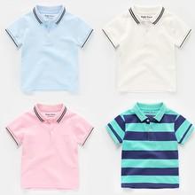 Baby Boys T Shirt Cotton Tops Tees For Boy Fashion Kids Outwear children Clothes Short Sleeve Tops 2-8 Year Summer Boys Clothes цена в Москве и Питере