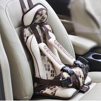 Children Car Chair Kids Booster Top Quality Toddler Car Seat Cushion Dining Chair Stroller Safety Strap