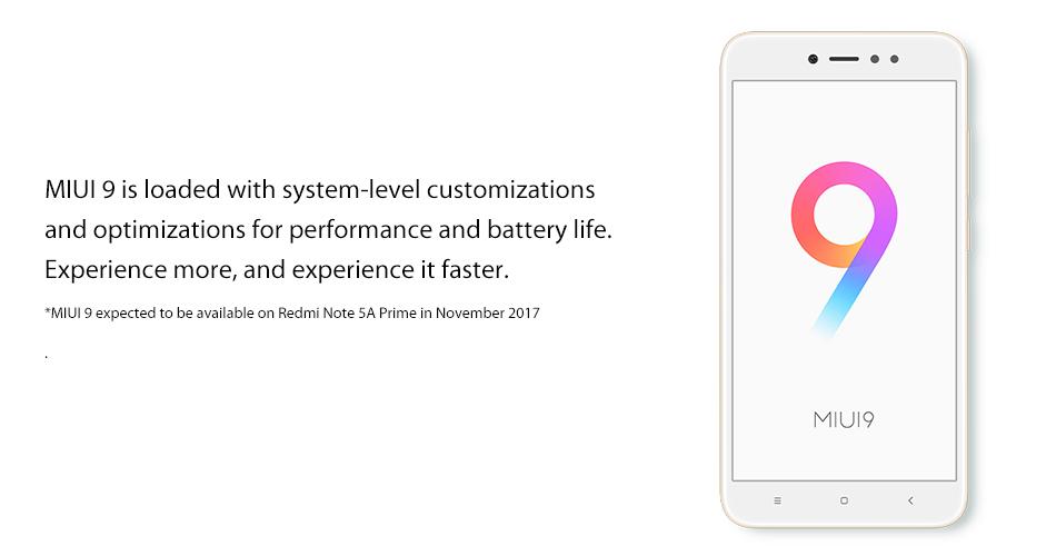 Redmi Note 5A Note5A Pro Prime 6