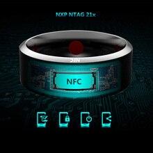 Anéis inteligentes wear jakcom sr3 nfc, nova tecnologia mágica para iphone samsung htc sony lg ios android windows nfc móvel telefone móvel