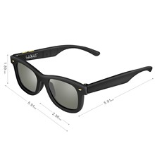 Dimming LCD Sunglasses 2019 NEW Original Designed Polarized Lenses Electronic Adjustable Darkness Sun Glasses Men
