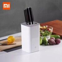 Xiaomi Mijia Huohou Kitchen Knife Stand Tool Holder Multifunctional Tool Holder Knife Block Cooktops Tube Shelf Chromorphous