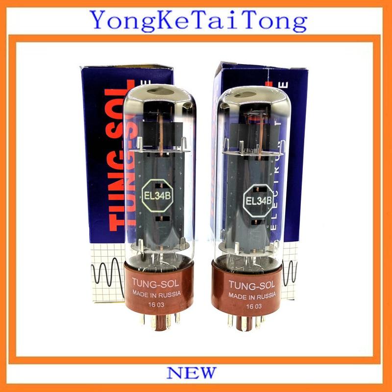 2 PCS/Lot EL34B Tube tung-sol EL34-B EL34 bricolage HIFI2 PCS/Lot EL34B Tube tung-sol EL34-B EL34 bricolage HIFI