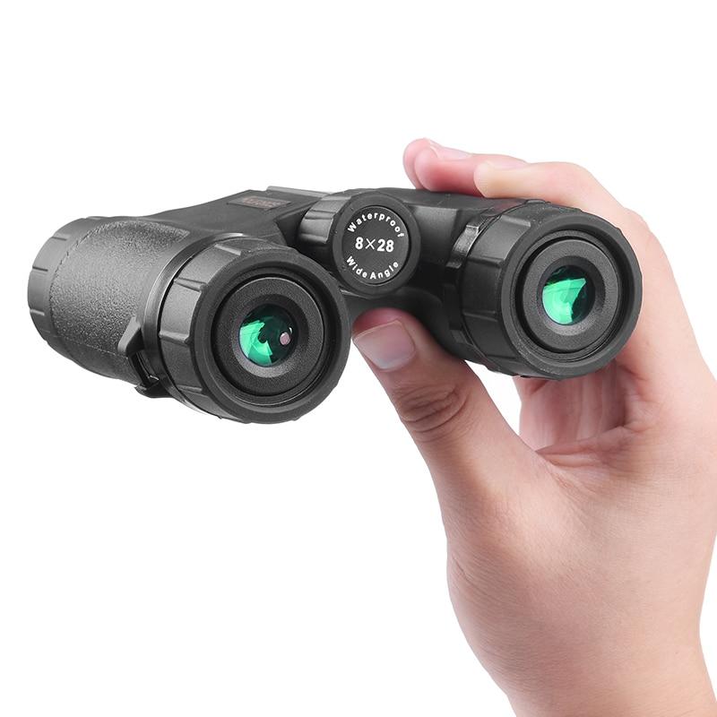 Купить мини бинокль 8x28 водонепроницаемый телескоп с широким углом