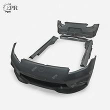 NISMO Body Kits For Nissan 370Z FRP NIS Set (4pcs) FB/RB/SS/RS Glass Fiber Bumper Side Skirt Spoiler Tuning Part