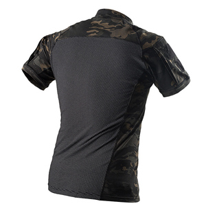 Image 2 - MEGE Camouflage Army T Shirt Men Summer RU Frog Soldiers Combat Tactical T Shirt Military Force Multicam Tee Camo Short Sleeve