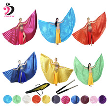 New Arrival 2015 Best and Hot Sale Belly Dance Wings with 12 Color in Quality  Best Selling in Egypt цена